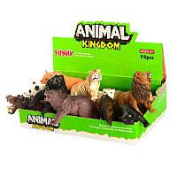 Животные 16088AB от 9см, (дикие), 12шт в дисплее 23-14-7см Цена за дисплей - 12 шт