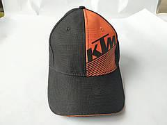 Бейсболка KTM (черно-оранжевая, 100% хлопок)