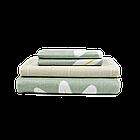 Комплект елітної постільної білизни Viluta, постільна білизна ранфорс бавовна, фото 4