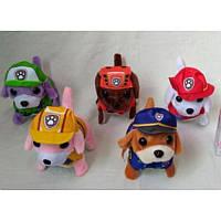 Мягк.игрушка HPC13/13A (144шт/2) Собачка, тявкает, ходит, 5 видов, в пакете 16*7*13 см