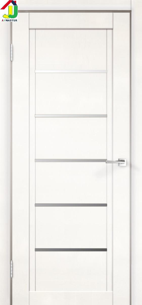 Двері міжкімнатні NEXT 1x емалит білий сатин, двері для квартири, двері для дому, двері в офіс.