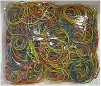 Резинки д/денег №5504 500г цветная ассорти, диам.55мм