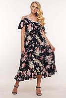 Женские модные летние платья Фиджи р. 54-60