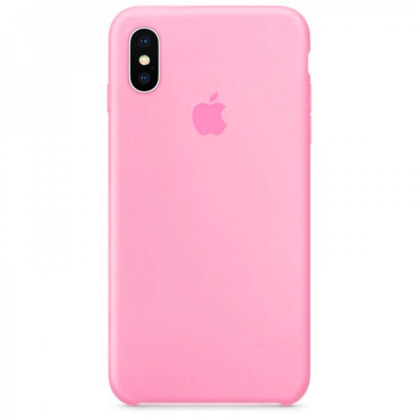 Silicone case Iphone X/XS Розовый