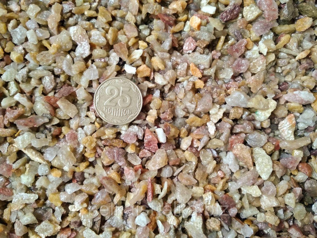 Кварцит колотий, фракція 4-10 мм, 1 кг