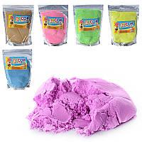Песок для творчества MK 0469 6 цветов, 500 г, в кульке 14-19,5-3см