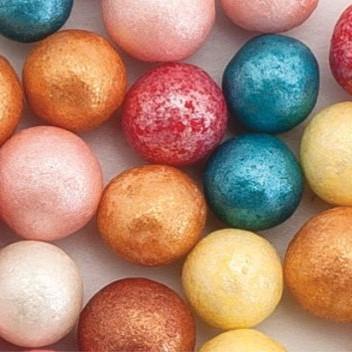 Стік-пакет кульки цукр d=10мм перламутрові (9шт), суміш №6