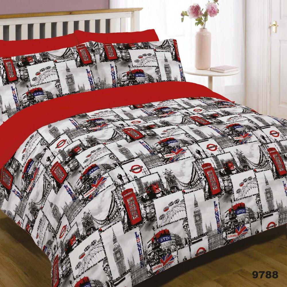 Комплект постельного белья хлопковый Viluta, постельное белье из ранфорса Вилюта
