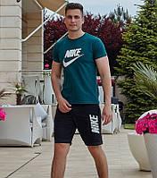 Чоловічий літній спортивний костюм, Спортивный мужской костюм Nike (Найк), Літній чоловічий костюм з шортами, Чоловічий літній спортивний костюм,