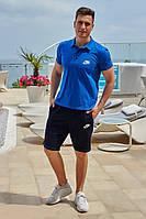 Спортивный мужской костюм Nike (Найк), Літній чоловічий костюм з шортами, Чоловічий літній спортивний костюм, Чоловічий літній спортивний костюм,