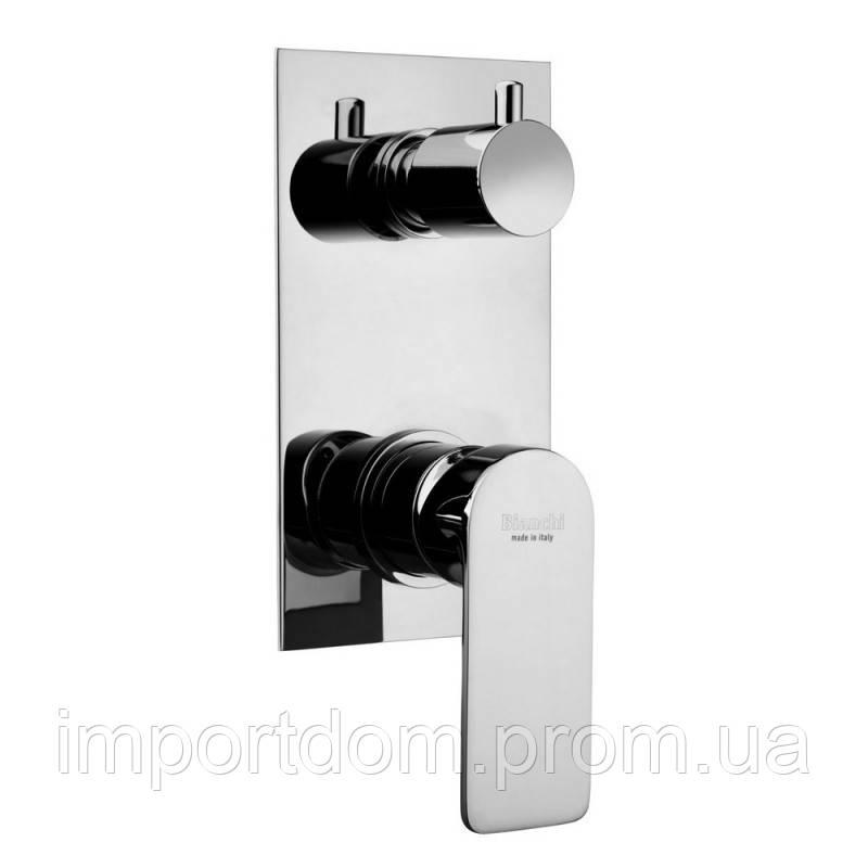 Смеситель скрытого монтажа для ванны Bianchi Freedom INDFRE2304046CRM на три потребителя