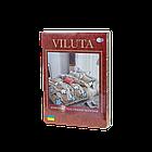 Якісна постільна білизна з ранфорсу Вилюта, комплект постільної білизни Viluta 100% бавовна, фото 6