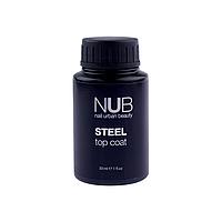 Nub Steel Top 30 мл Стойкий к повреждениям закрепитель для гель-лака