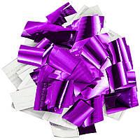 Конфетти-Метафан ЛК207 Фиолетово-Серебряный 2х2 1кг, фото 1