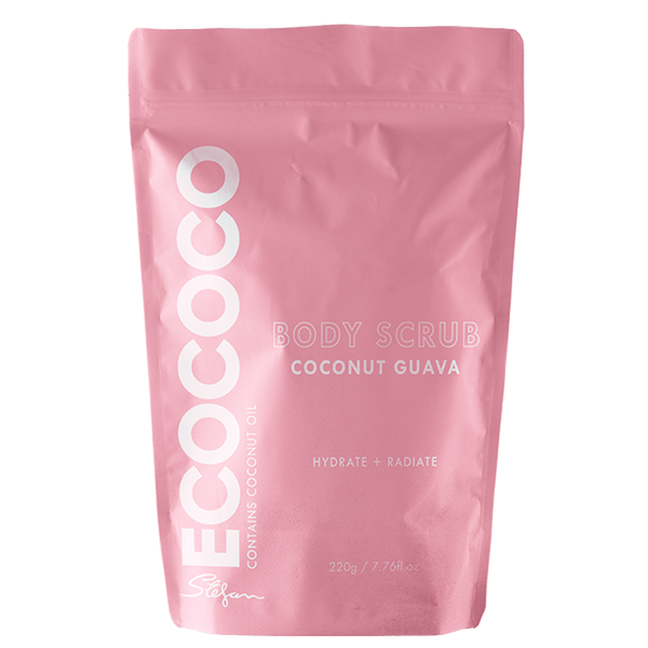 Соляной скраб для тела с экстрактом кокоса и гуавы Ecococo Coconut Guava Body Scrub 220 г