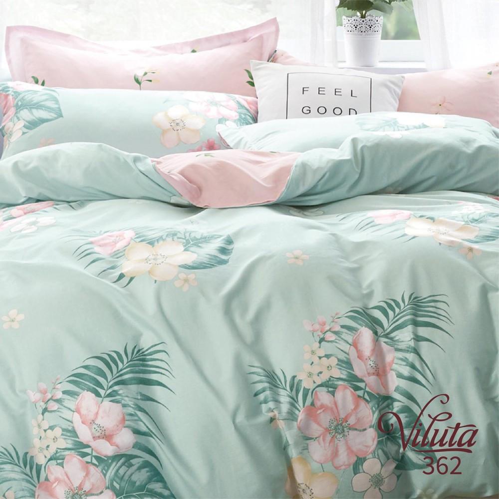 Постельное бельё сатин Viluta™ комплект постельного белья