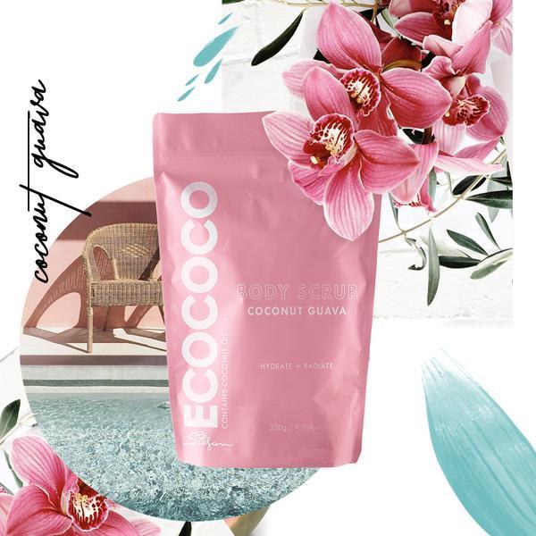 Ecococo Coconut Guava Body Scrub