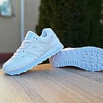 Женские кроссовки New Balance 574 (белые) 2969, фото 2