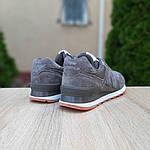 Замшеві чоловічі кросівки New Balance 574 (сірі) 10195, фото 2