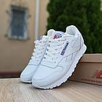 Чоловічі кросівки Reebok Classic (білі) 10200, фото 2