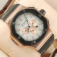 Часы мужские наручные B.l.gari daniel roth cal 1306 gold silver