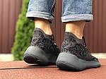 Чоловічі кросівки Adidas Yeezy Boost 380 (чорні) 9510, фото 3