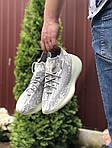 Мужские кроссовки Adidas Yeezy Boost 380 (серо-белые) 9511, фото 3