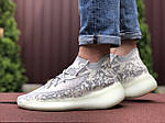 Мужские кроссовки Adidas Yeezy Boost 380 (серо-белые) 9511, фото 4