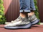 Чоловічі кросівки Adidas Yeezy Boost 380 (сіро-бежеві з чорним) 9512, фото 4