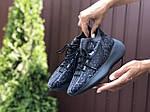 Женские кроссовки Adidas Yeezy Boost 380 (черные) 9516, фото 3