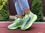 Жіночі кросівки Adidas Yeezy Boost 380 (салатові) 9518, фото 4