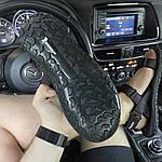 Мужские летние сандалии Under Armour Sandals Fattire x Michelin Black Red (черно-красные) C-1866, фото 3