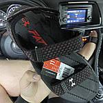 Чоловічі літні сандалі Under Armour Sandals Fattire Michelin x Black Red (чорно-червоні) C-1866, фото 5