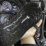 Мужские летние сандалии Under Armour Sandals Fattire x Michelin Black Red (черно-красные) C-1866, фото 6