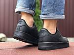 Чоловічі кросівки Nike Air Force (чорні) 9519, фото 4