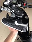 Чоловічі кросівки Nike Air Force (чорно-білі) 9523, фото 4