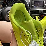 Жіночі кросівки Nike Air Force 1 Low Jester Neon Green (зелені) C-1877, фото 6