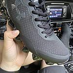 Мужские кроссовки Under Armour Scorpio Black (черные) C-1875, фото 3