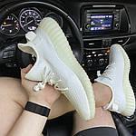 Кросівки Adidas Yeezy Boost 350 V2 White Cream (білі) - Унісекс C-573, фото 4