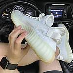 Кросівки Adidas Yeezy Boost 350 V2 White Cream (білі) - Унісекс C-573, фото 5