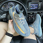 Кроссовки Adidas Yeezy Boost 350 V2 Israfil - Унисекс C-1873, фото 3