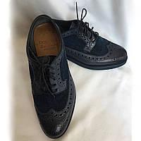 Туфли мужские летние DOUCAL'S Италия оригинал, натуральная кожа, ручной пошив, размер 41