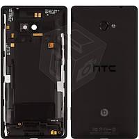 Задняя крышка батареи для HTC Windows Phone 8X C620e, черный, оригинал