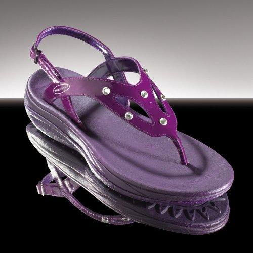 Босоножки со стразами Swarovski WALKMAXX   размер 39 фиолетовые