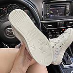 Жіночі кеди Dior B23 Low-Top Sneakers White (білі) C-1867, фото 5