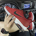 Мужские кроссовки Nike Air Presto Red White (красно-белые) C-1865, фото 2