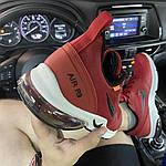 Мужские кроссовки Nike Air Presto Red White (красно-белые) C-1865, фото 7