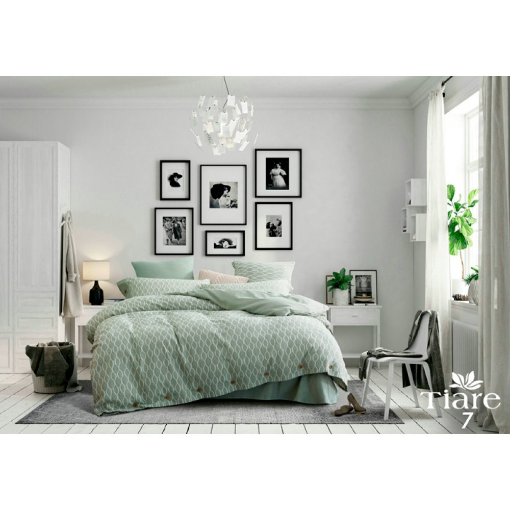 Комплект постільної білизни Wash Jacquard Tiare™ варений бавовна Постільна білизна