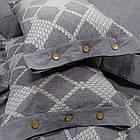 Комплект постельного белья Wash Jacquard Tiare™ варёный хлопок Постельное бельё, фото 4