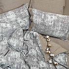 Комплект постільної білизни Wash Jacquard Tiare™ варений бавовна Постільна білизна, фото 3